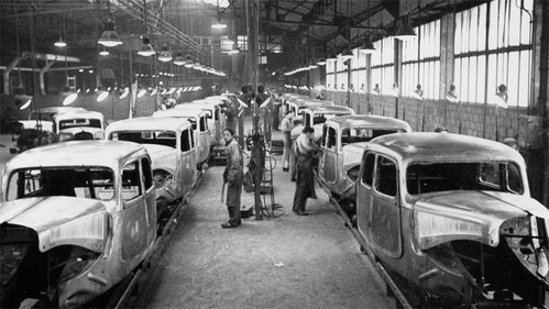 Rebuilding the Citroën Javel  factory