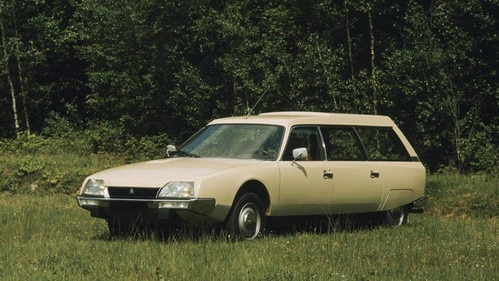 Launch of the Citroën CX estate