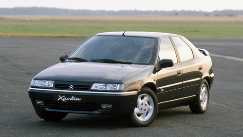 Market launch of the Citroën Xantia Activa