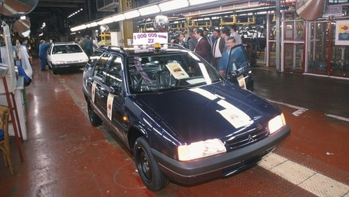 One millionth Citroën ZX