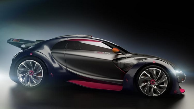 Citroën Survolt concept car - Contrasts in styling