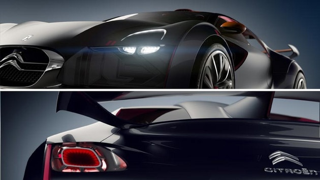 Citroën Survolt concept car - A strong personality