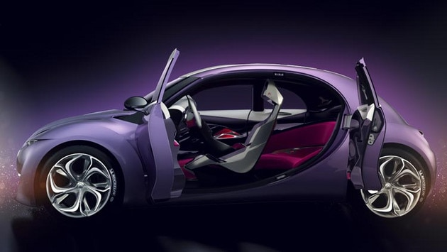 Citroën Revolte concept car  - Bold colours and materials