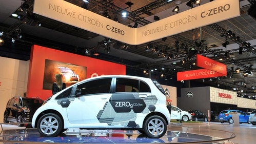 Citroën C-Zéro reveal at the Brussels Motor Show