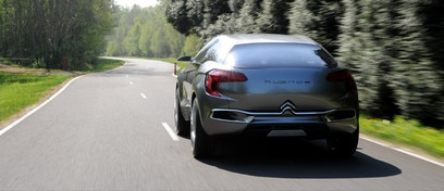 Citroën Hypnos concept car - Boost function