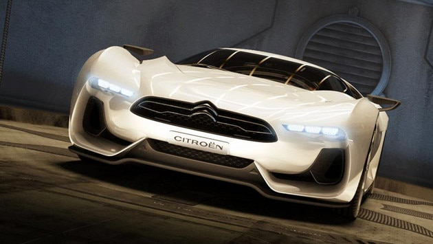 GTbyCitroën concept car - A powerful front end