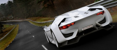 GTbyCitroën concept car - Exceptional driving sensations