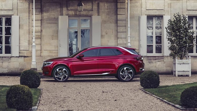 Citroën Wild Rubis concept car - French-style luxury